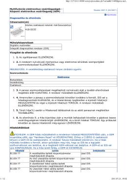 Köztes csatlakozó készlet mérőcsúcsokhoz 418-S035