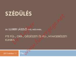 letöltés - Dr. Lujber László