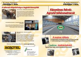 Comfortex matrac magyar prospektus