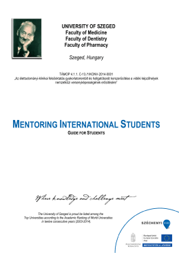 Mentor Program for Students_2014_brosi