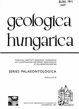 SERIES PALAEONTOLOGICA