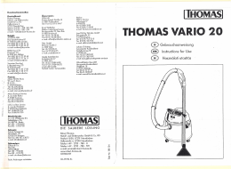 THOMAS VARIO 20