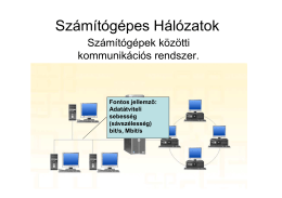 Számítógépes hálózatok (prezentáció)