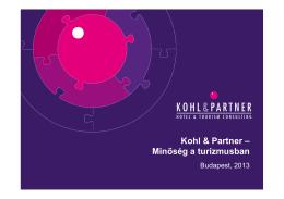 Kohl & Partner – Minőség a turizmusban