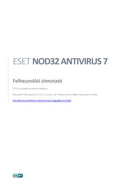 1. ESET NOD32 Antivirus