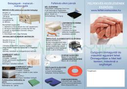Felfekvés elleni termékek