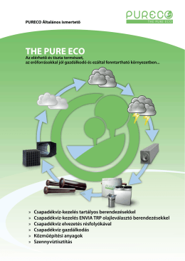THE PURE ECO - Pureco Kft.
