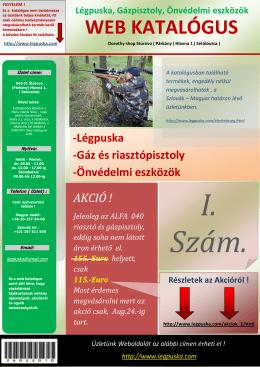 web katalógus - Legpuska.com