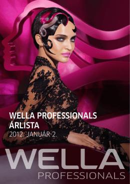 WELLA PROFESSIONALS ÁRLISTA