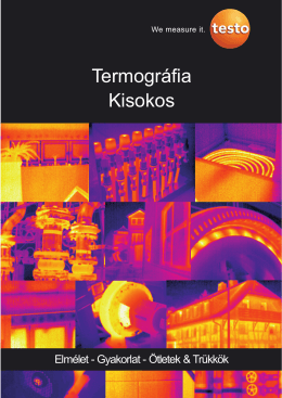 Termográfia Kisokos