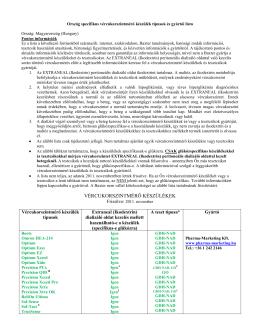 Ország specifikus vércukorszintmérő készülék lista
