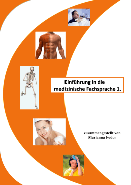 Einführung in die medizinische Fachsprache 1.