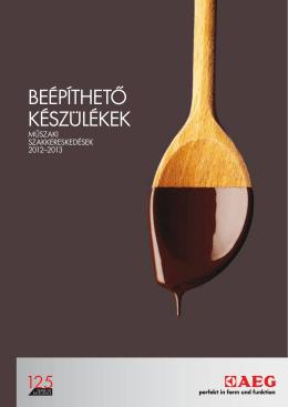 Beépíthető Katalógus 2012-2013