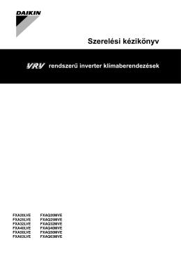 FXAQ 20 63 M Szerelési Kézikönyv.pdf