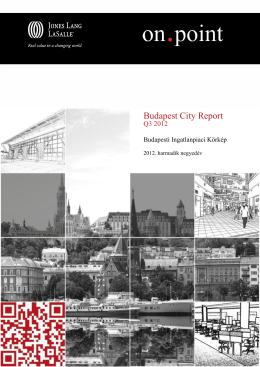 Budapest City Report • Q2 2012