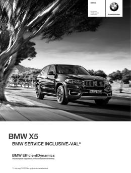 BMW X5 árlista