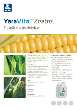 YaraVita™ Zeatrel
