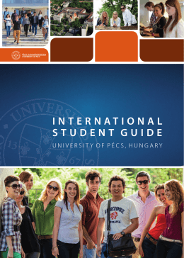 PTE International Student Guide 2014 egyben 2