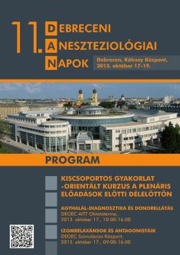 Untitled - Magyar Aneszteziológiai és Intenzív Terápiás Társaság