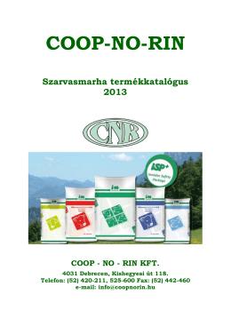 CNR Karotinos kiegészítő takarmány - Coop-No