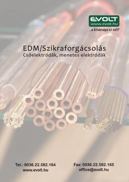 EDM/Szikraforgácsolás