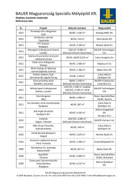 Referencia lista Résfalas munkatér-határolás