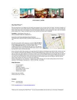 Information Leaflet