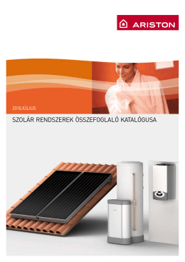 Ariston solar katalogus