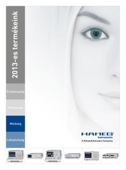 2013-es termékeink
