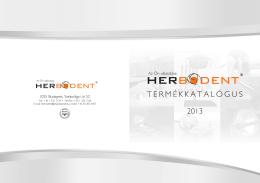 2013 termékkatalógus