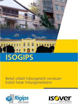 ISOGIPS - Isover