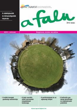 A vidékfejlesztők és környezetgazdák folyóirata