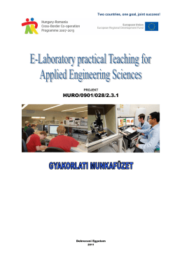 Practical e-laboratory workbook PP HU