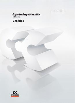 Camozzi Gyártmányválaszték [8.5] - 2. fejezet: VEZÉRLÉS - Tech-Con