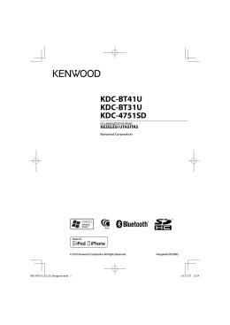 KDC-BT41U KDC-BT31U KDC-4751SD