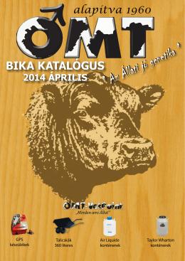 OMT bikakatalógus 2013 Szeptember
