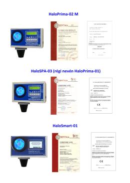 HaloPrima-02 M HaloSPA-03 (régi nevén HaloPrima