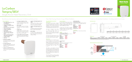 Lo-Carbon Tempra/SELV - Vent-Axia