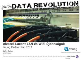 Alcatel-Lucent LAN és WiFi újdonságok