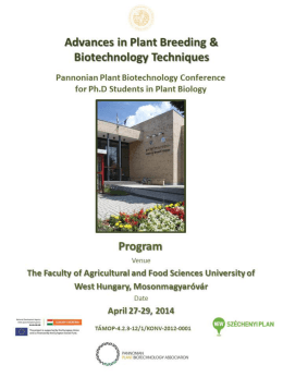 Advances in Plant Breeding and Biotechnology Techniques
