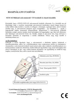 CO / Szénmonoxid - steckhungaria.hu