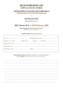 Jelentkezési lap (PDF)