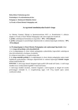2014-es évi államvizsga - Babeş