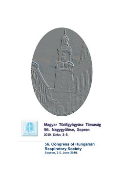 Részletes program - Magyar Tüdőgyógyász Társaság