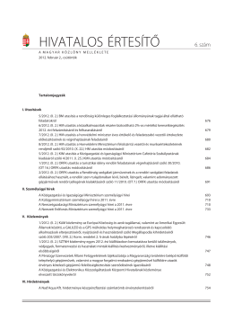 A belügyminiszter 5/2012. (II. 2.) BM utasítása (pdf)