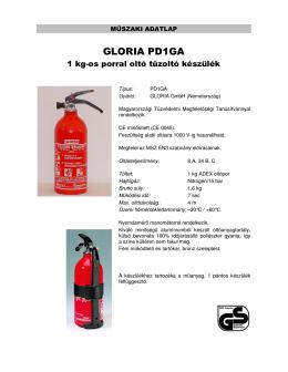 GLORIA PD1 GLORIA PD1GA