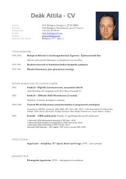 Lakcím 1031 Budapest, Saroglya u. 22746 HRSZ Postacím 1036