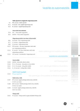 Letöltés PDF - GE Power Controls