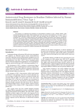 Antiretroviral Drug Resistance in Brazilian Children