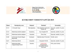 kyokushin_versenynaptár_2015